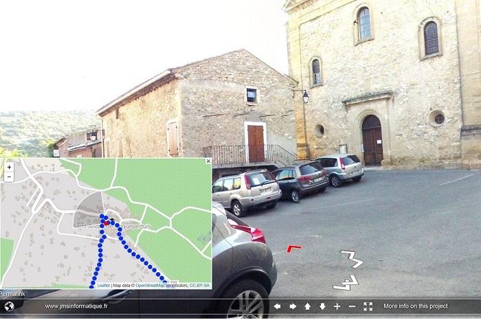 StreetView spécifique